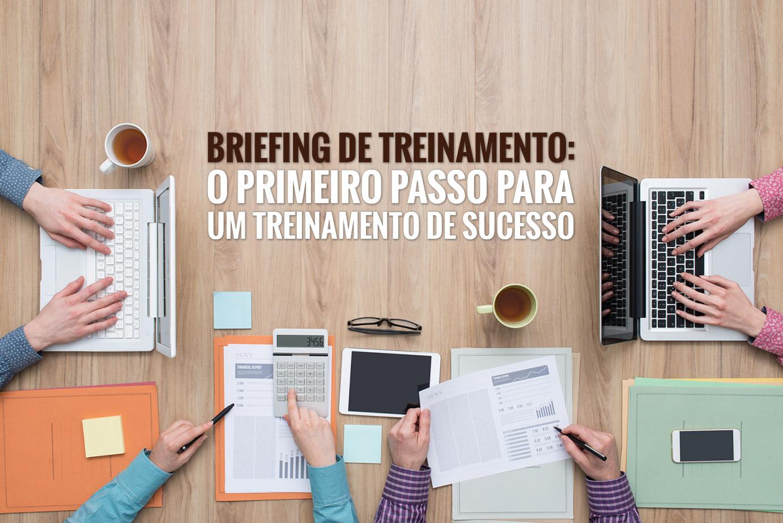 Briefing de treinamento bem feito