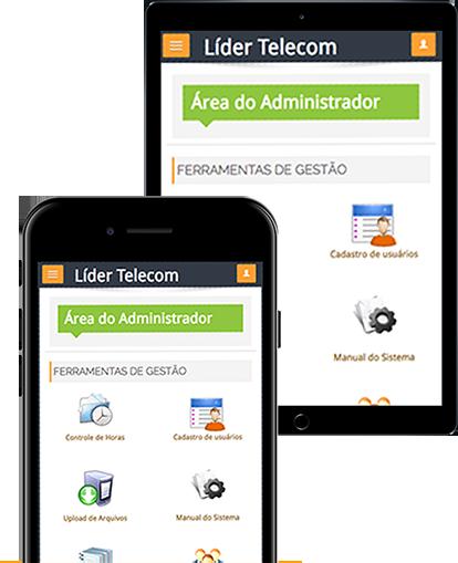 Área de administrador e Ambiente virtual de homologação