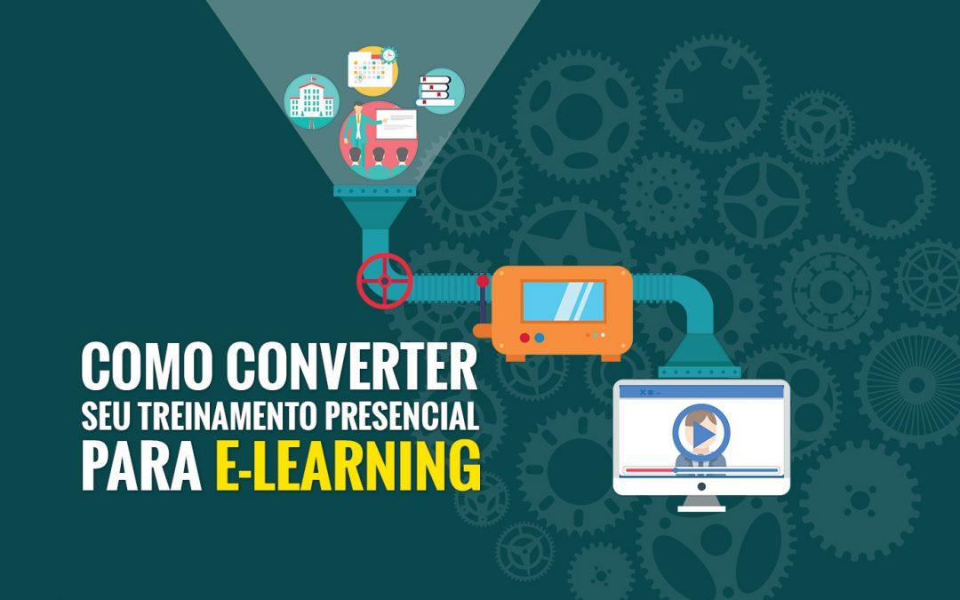Aprenda a converter seus treinamentos presenciais para e-learning