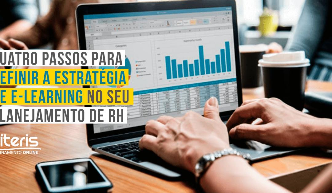 Quatro passos para definir a estratégia de e-learning no seu planejamento de RH