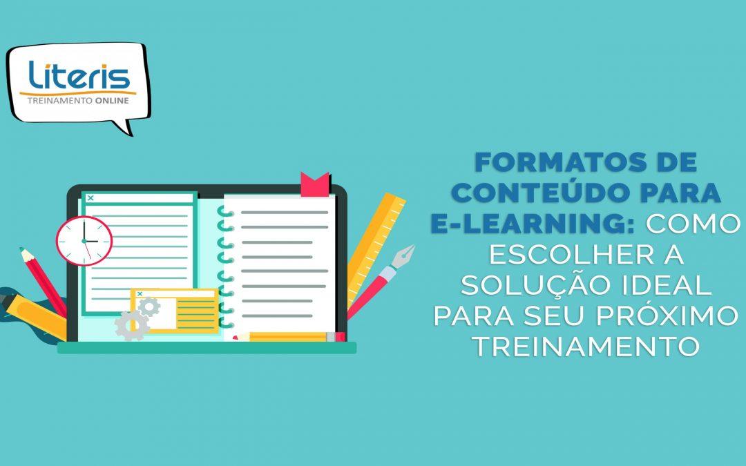 Formatos de conteúdo para e-learning: como escolher a solução ideal para seu próximo treinamento