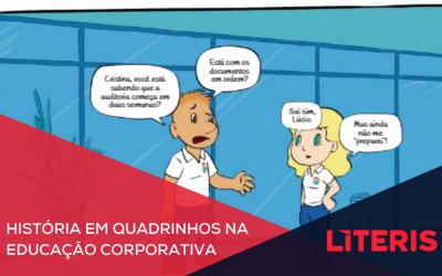 Quadrinhos na educação corporativa: Os benefícios de integrar o formato no projeto de EAD
